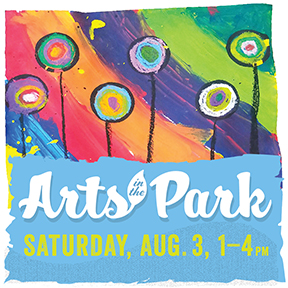 Arts in the Park graphic